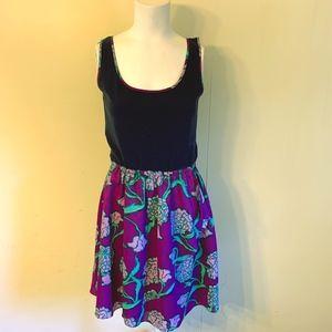 LILLY PULITZER Hollyhock Megyn Purple Tank Dress M